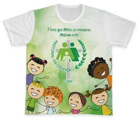 Camiseta REF.0703 - Pastoral da Criança
