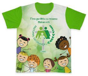 Camiseta REF.0704 - Pastoral da Criança