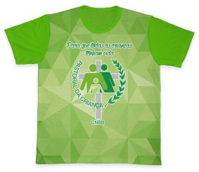 Camiseta REF.0705 - Pastoral da Criança