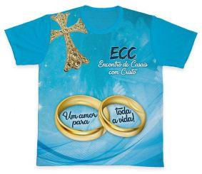 Camiseta REF.0850 - ECC - Encontro de Casais com Cristo