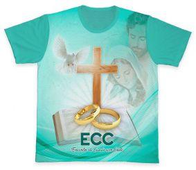 Camiseta REF.0854 - ECC - Encontro de Casais com Cristo