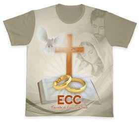 Camiseta REF.0855 - ECC - Encontro de Casais com Cristo