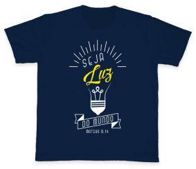 Camiseta REF.504-2 - Seja Luz do mundo - Mateus 5,14