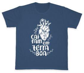 Camiseta REF.505-1 - Caíram em Terra Boa