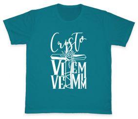 Camiseta REF.506-2 - Cristo Vive em Mim