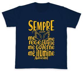 Camiseta REF.508-1 - Santo Anjo - Oração