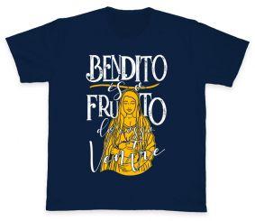Camiseta REF.5009-1 - Bendito és o Fruto do Vosso Ventre