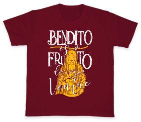 Camiseta REF.5009-2 - Bendito és o Fruto do Vosso Ventre