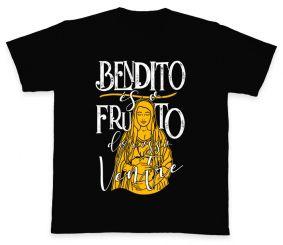 Camiseta REF.5009-3 - Bendito és o Fruto do Vosso Ventre