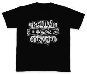 Camiseta REF.510-1 - Gratidão é a memória do coração