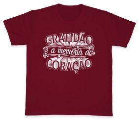 Camiseta REF.510-2 - Gratidão é a memória do coração