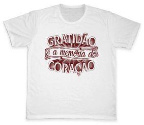 Camiseta REF.5103 - Gratidão é a memória do coração