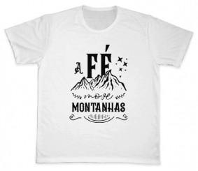 Camiseta REF.5201 - A fé move montanhas