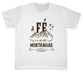Camiseta REF.520-1 - A fé move montanhas