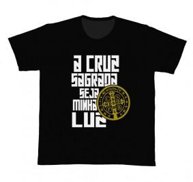 Camiseta REF.5302 - A Cruz Sagrada - São Bento