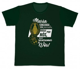 Camiseta Ref. 5323 - Medalha Milagrosa