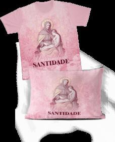 Kit - Camiseta + Fronha - REF.0264 - Santa Ana