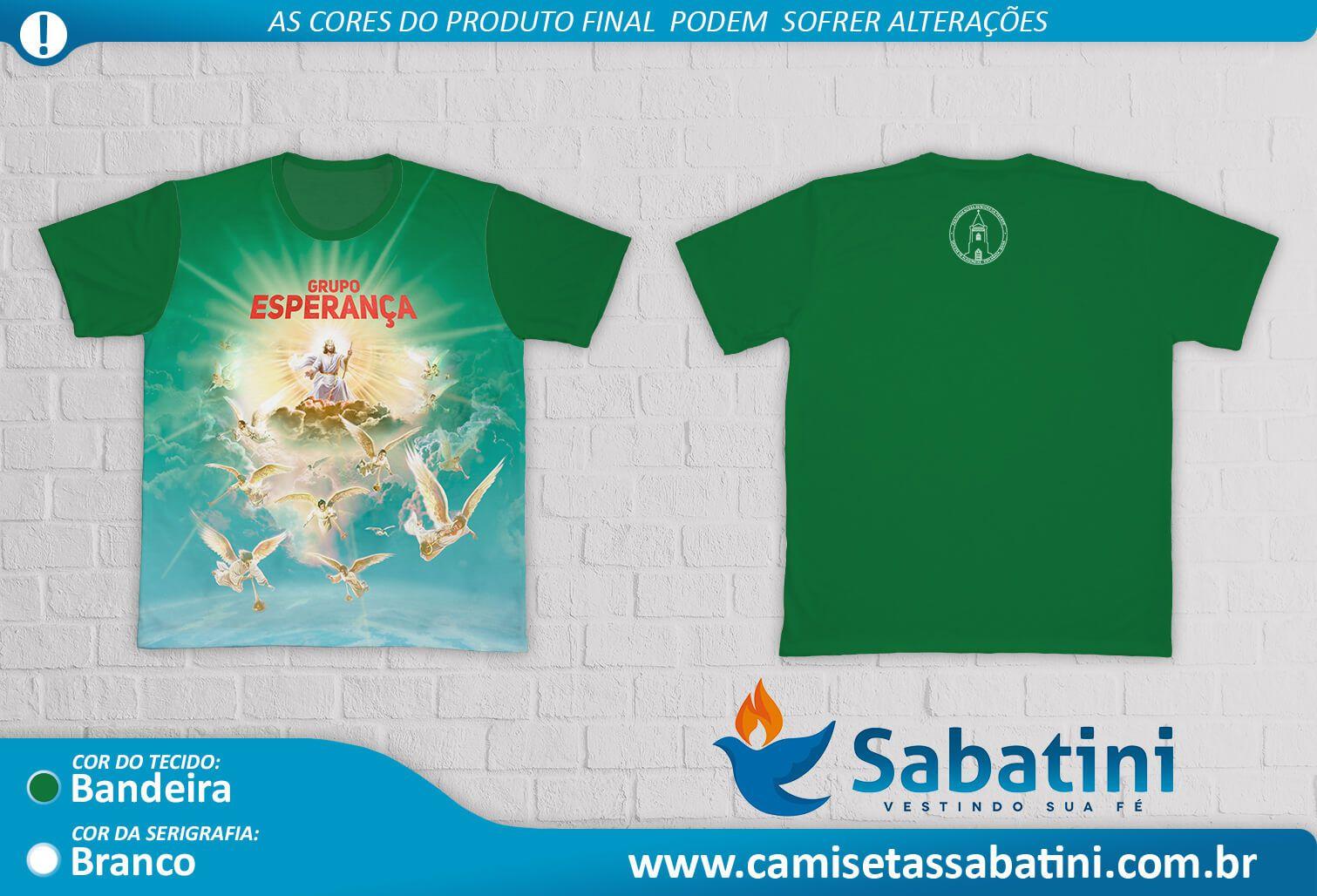 Camiseta Personalizada - Grupo Esperança - Esplanada BA - ID13967778  - Camisetas Sabatini