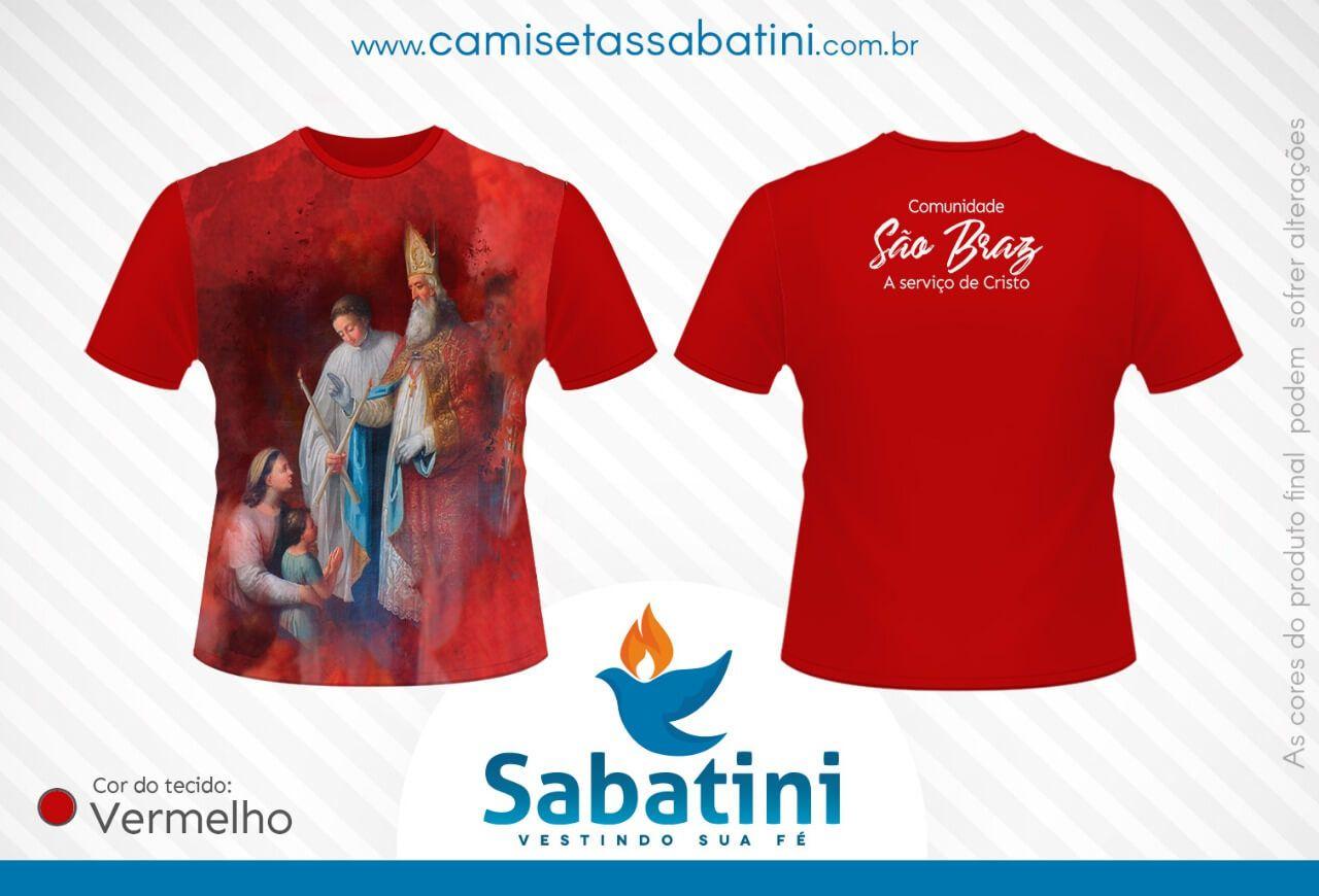 Camiseta Personalizada - COMUNIDADE SÃO BRAZ -PORTO DE MOZ - PA- ID9719663  - Camisetas Sabatini