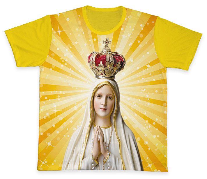 Camiseta REF.0102 - Nossa Senhora de Fátima