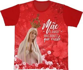 Camiseta REF.0105 - Nossa Senhora de Fátima