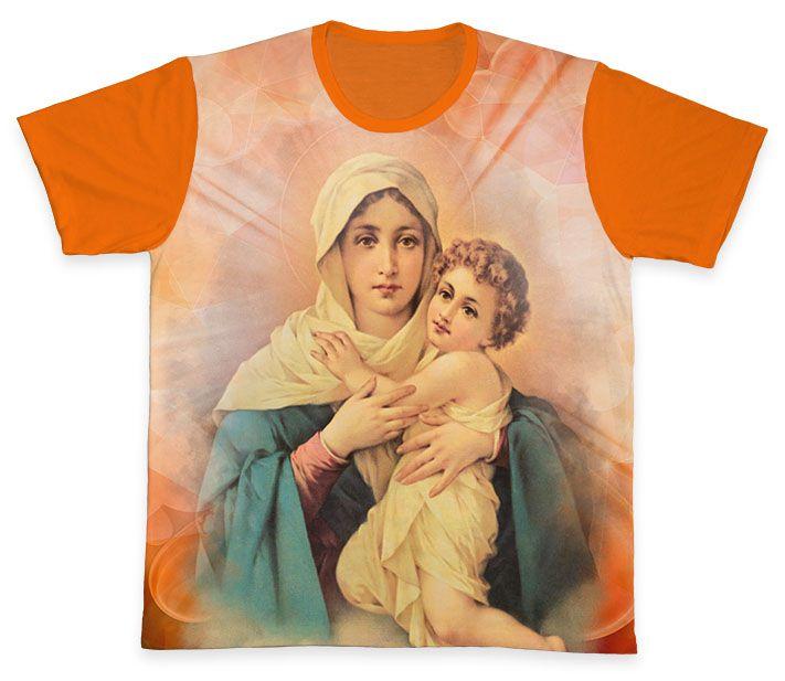 Camiseta REF.0107 - Mãe Rainha  - Camisetas Sabatini