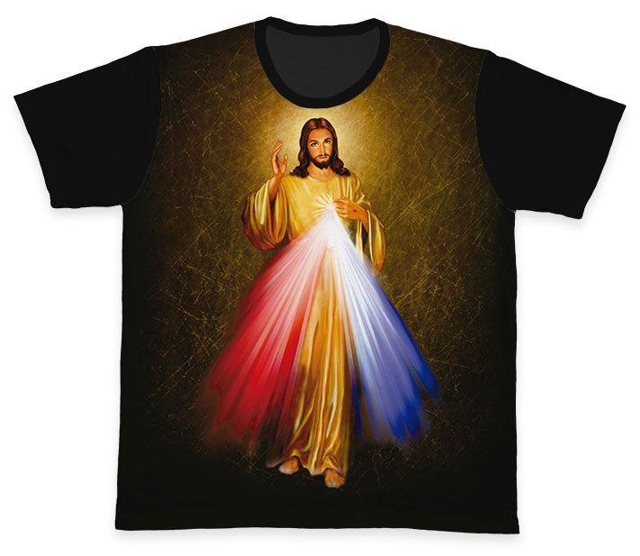Camiseta REF.0116 - Jesus Misericordioso  - Camisetas Sabatini