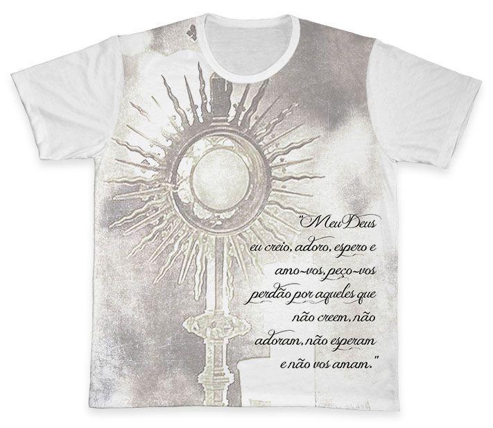Camiseta REF.0124 - Ostensório  - Camisetas Sabatini