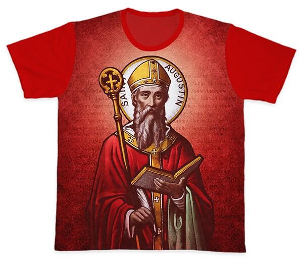 Camiseta Ref. 0127 - Santo Agostinho