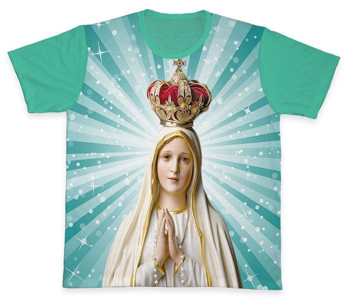 Camiseta REF.0134 - Nossa Senhora de Fátima