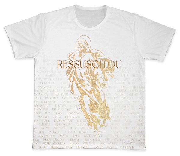 Camiseta Ref. 0140 - Ressuscitou