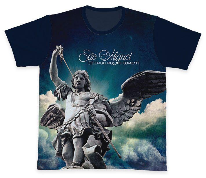 Camiseta REF.0142 - São Miguel Arcanjo  - Camisetas Sabatini
