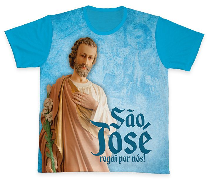 Camiseta REF.0153 - São José  - Camisetas Sabatini