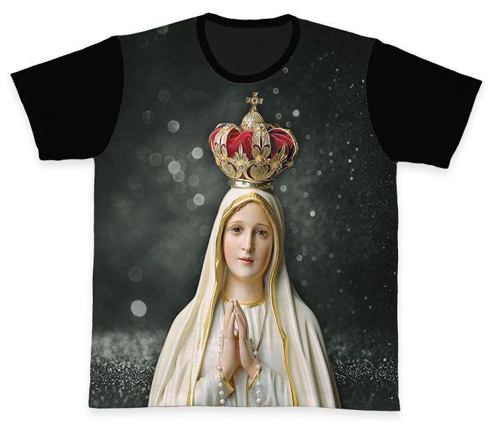 Camiseta REF.0154 - Nossa Senhora de Fátima