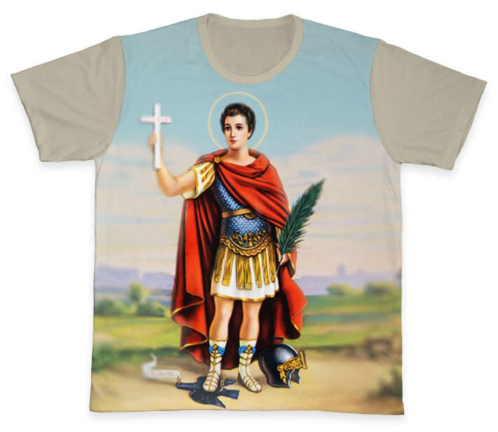 Camiseta REF.0162 - Santo Expedito  - Camisetas Sabatini
