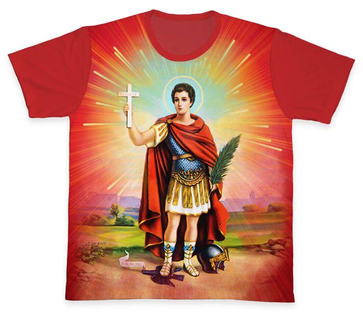 Camiseta REF.0163 - Santo Expedito  - Camisetas Sabatini