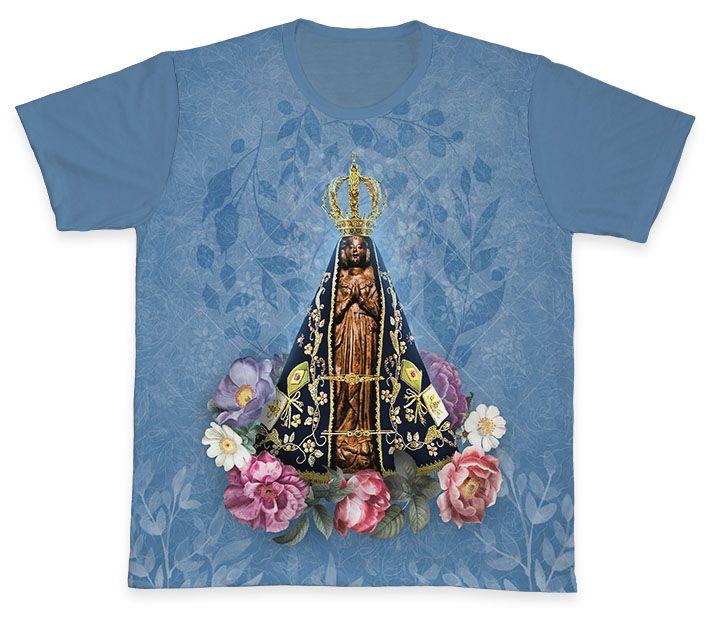 Camiseta REF.0164 - Nossa Senhora Aparecida  - Camisetas Sabatini