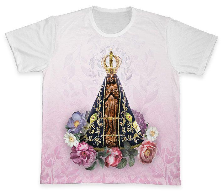 Camiseta REF.0165 - Nossa Senhora Aparecida  - Camisetas Sabatini