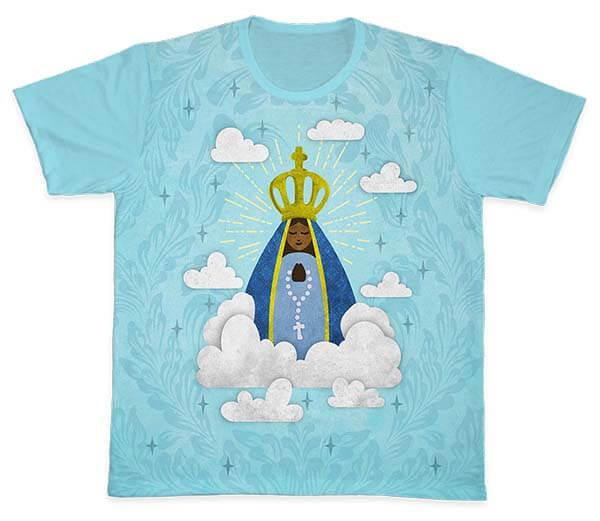 Camiseta Ref. 0185 - Nossa Senhora Aparecida