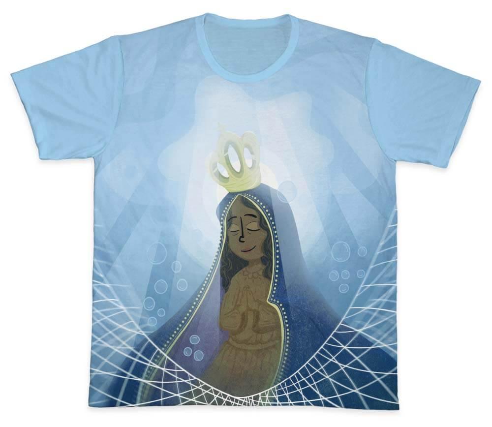 Camiseta Ref. 0188 - Nossa Senhora Aparecida