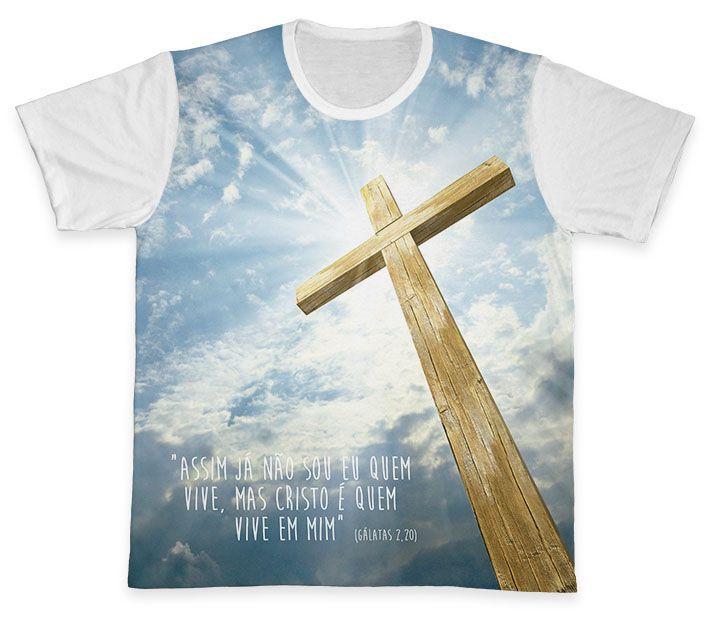 Camiseta REF.0204 - Gálatas 2,20  - Camisetas Sabatini