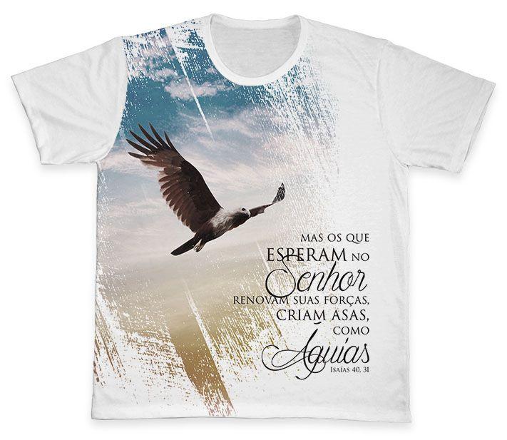 Camiseta REF.0218 - Como Águias  - Camisetas Sabatini