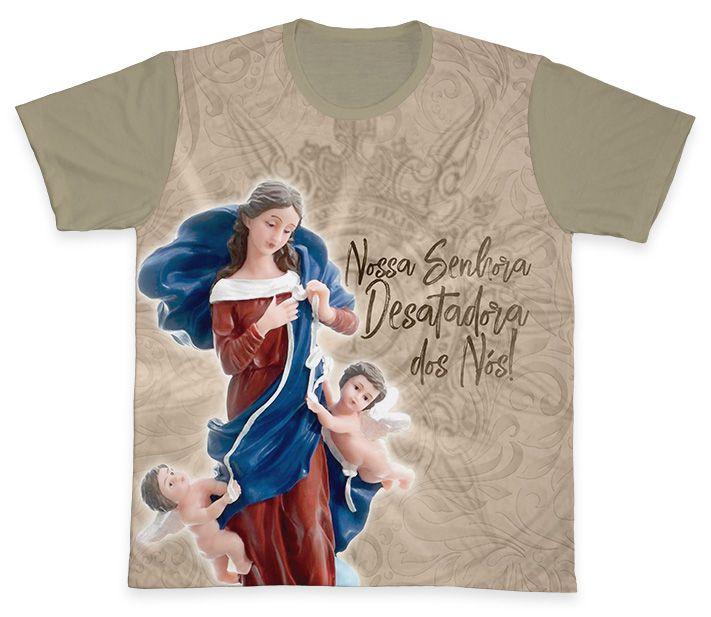 Camiseta Ref. 0230 - Nossa Senhora Desatadora dos Nós