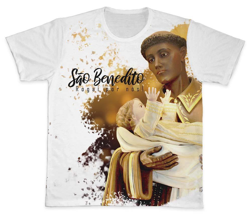 Camiseta Ref. 0234 - São Benedito