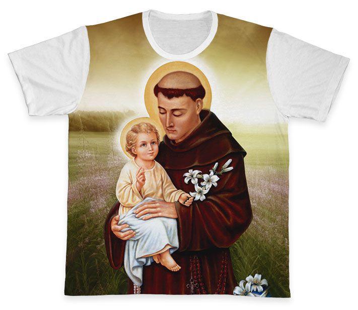 Camiseta REF.0250 - Santo Antônio  - Camisetas Sabatini