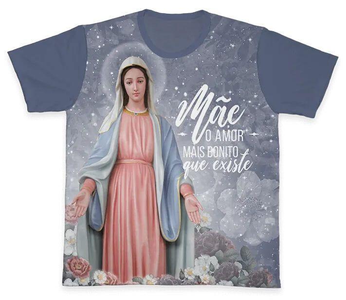 Camiseta Ref. 0255 - Nossa Senhora Das Graças