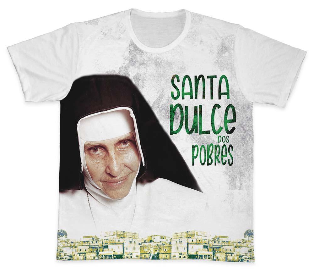 Camiseta Ref. 0256 - Santa Dulce dos Pobres