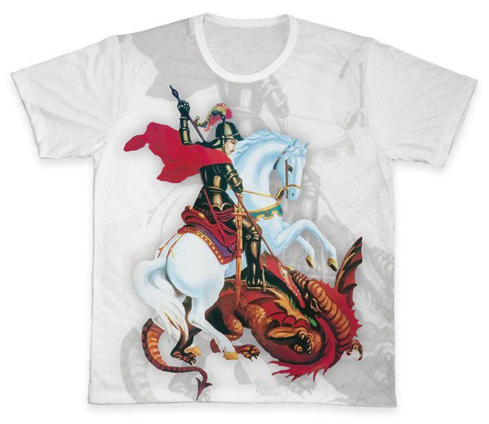 Camiseta REF.0265 - São Jorge  - Camisetas Sabatini