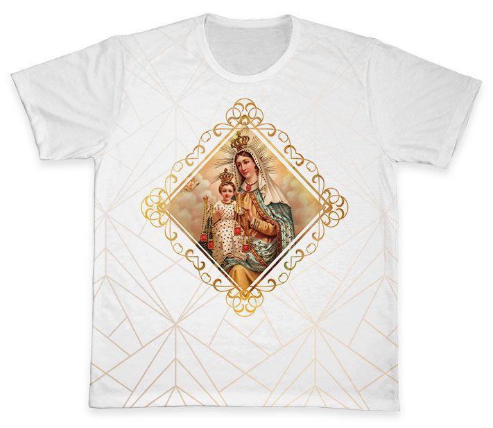 Camiseta REF.0266 - Nossa Senhora do Carmo  - Camisetas Sabatini