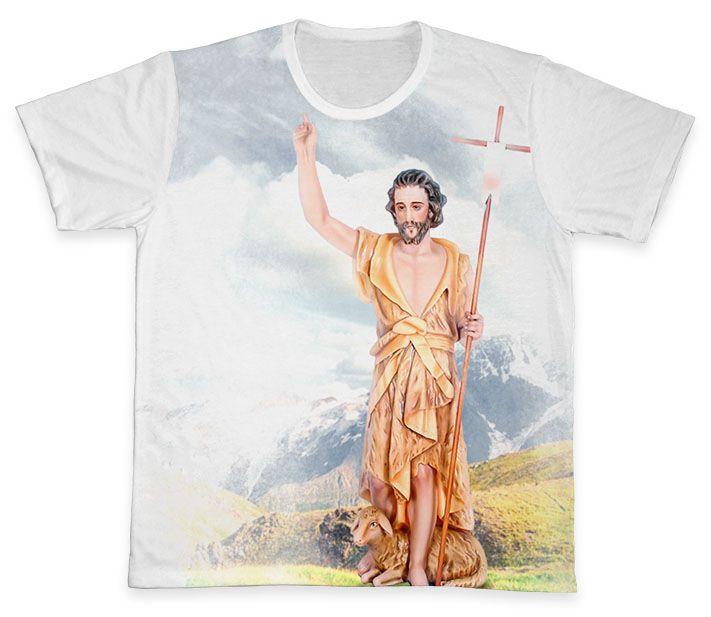 Camiseta REF.0279 - São João Batista  - Camisetas Sabatini